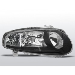 HEADLIGHTS BLACK ALFA ROMEO 147 01-04