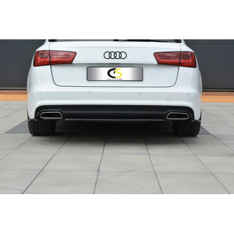 rear diffuser audi a6 15 s-line avant - carstyling