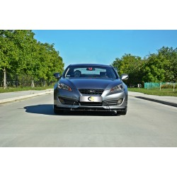 FRONT SPLITTER HYUNDAI GENESIS COUPE 09-12
