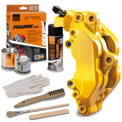 "BRAKE CALIPER LACQUER SET ""PERFORMANCE YELLOW GLOSSY"""