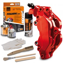 """BRAKE CALIPER LACQUER SET """"PERFORMANCE RED GLOSSY"""""""