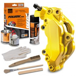 "BRAKE CALIPER LACQUER SET ""SPEED YELLOW"""