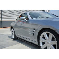 SIDESKIRT SPLITTERS CHRYSLER CROSSFIRE