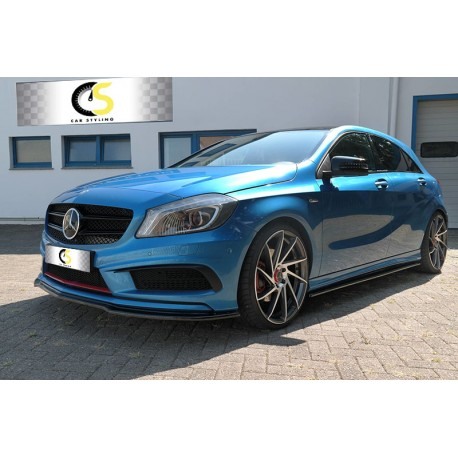 FRONT SPLITTER MERCEDES A CLASS 12-15 AMG-LINE - CarStyling