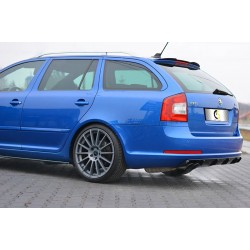 WING EXTENSION SKODA OCTAVIA 08-13 RS STATION