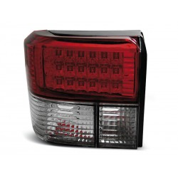 LED TAILIGHTS RED/WHITE VW TRANSPORTER T4 90-03