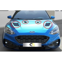 HOOD AIR INTAKES FORD FOCUS 18-