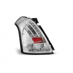 LED TAILIGHTS CHROME SUZUKI SWIFT 05-10