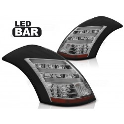 LED TAILIGHTS BLACK SUZUKI SWIFT 10-17