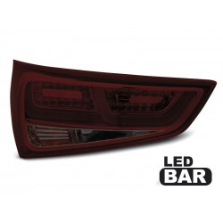 LED TAILIGHTS RED/SMOKE AUDI A1 10-14