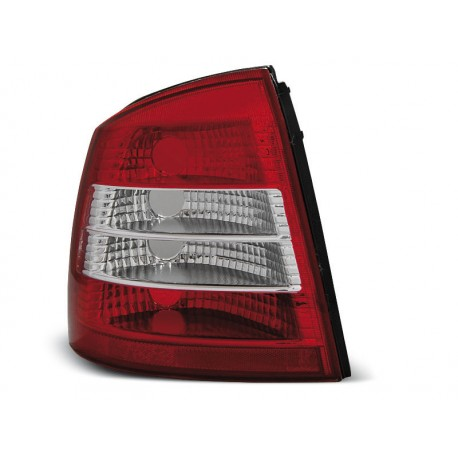 TAILIGHTS RED/WHITE OPEL ASTRA G 98-04 HATCHBACK