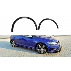 WING EXTENSION VW GOLF VII R 17-