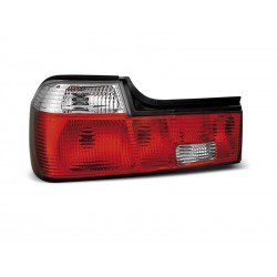 TAILIGHTS RED/WHITE BMW 7 86-94
