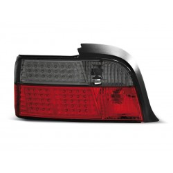 LED TAILIGHTS RED/SMOKE BMW 3 91-98 COUPE